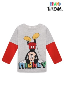 Brand Threads Disney - Mickey Mouse Boys T-Shirt