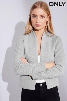 Only Ribbed Jersey Blazer