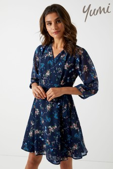 Yumi Multi Printed Dress