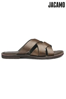 a104d443996296 Jacamo Cross Strap Sandals