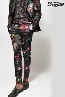 Jaded London Floral Suit Trousers