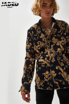 Jaded London Baroque Print Shirt