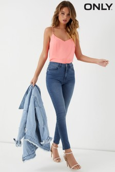 Only Royal Skinny Jeans mit hoher Taille
