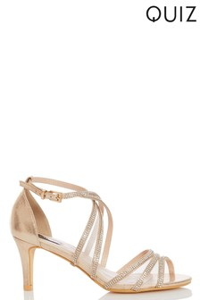 f79a5f2721bf3 Womens Gold Sandals | Stylish Gold Sandals For Ladies | Next Ireland