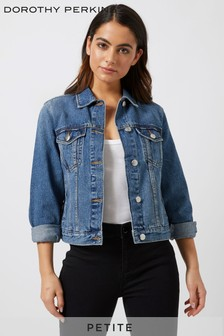 Dorothy Perkins Petite Midwash Denim Jacket
