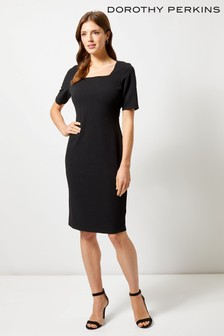 Dorothy Perkins Square Neck Jersey Dress
