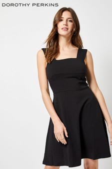Dorothy Perkins Plain Square Neck Dress