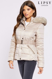 Lipsy High Shine Padded Jacket