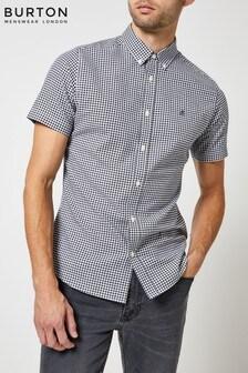 Burton Short Sleeve Gingham Shirt