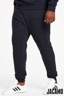 Jacamo Plus Size Cuffed Jog Pant 31 Inch