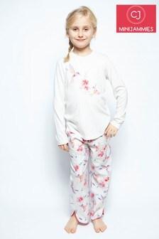 Пижамный комплект с принтом колибри Minijammies