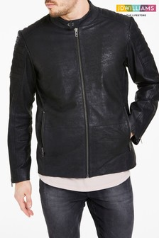 JD Williams Leather Biker Jacket