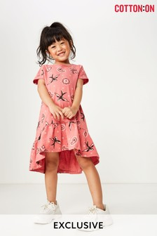 Cotton On Printed Short Sleeve Dress