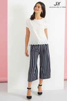 JDY Belted Woven Culottes