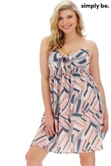 Simply Be Woven Print Chemise
