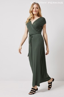 Dorothy Perkins Wrap Maxi Dress