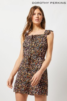 Dorothy Perkins Jersey Floral Ditsy Playsuit