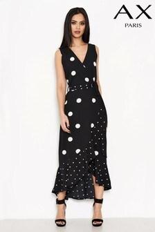 AX Paris Monochrome Wrap Dress