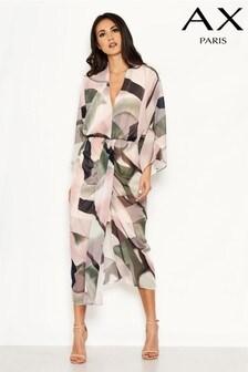 AX Paris Chiffon Printed Dress