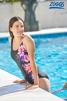 Zoggs Bloomsbury Scoopback Swimsuit