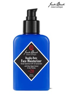Jack Black Double-Duty Face Moisturizer SPF 20 with Blue Algae Extract & Sea Parsley