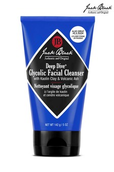 Jack Black Deep Dive Glycolic Facial Cleanser With Kaolin Clay and Volcanic Ash 142g