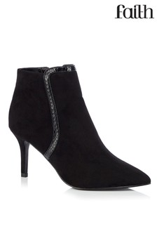 Faith Heeled Ankle Boots