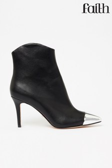 Faith Shoes Heeled Ankle Boot