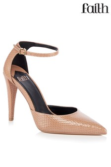 Faith Ankle Strap Two Part Courts