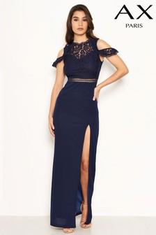 فستان ماكسي كروشيه من أعلى من AX Paris