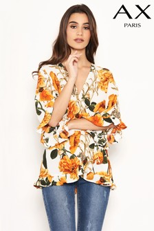 AX Paris Floral Print Top