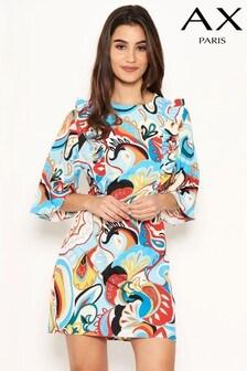 AX Paris Printed Frill Day Dress