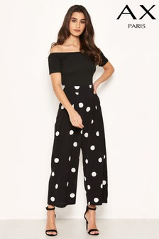 AX Paris Polka Dot Jumpsuit