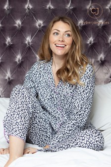 Cyberjammies Laura Animal Print PJ Set