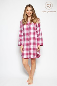 Cyberjammies Heart Dobbie Nightshirt