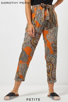 Dorothy Perkins Petite Paisley Trousers