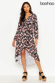 bb59d96ba56c Buy Women's dresses Wrap Wrap Dresses Boohoo Boohoo from the Next UK ...