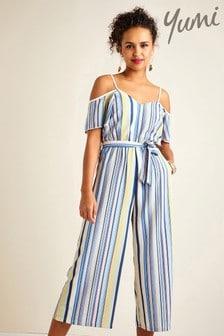 Yumi Stripe Jumpsuit