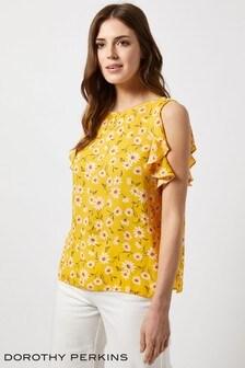 1d085606f643 Buy Women's tops Tops Yellow Yellow Dorothyperkins Dorothyperkins ...