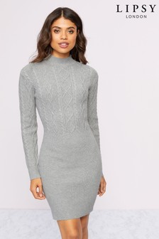 Lipsy Cable Knit Dress