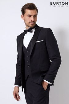 Burton Skinny Fit Tuxedo Suit Jacket