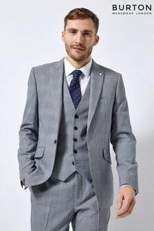 Burton Slim Fit Suit Jacket