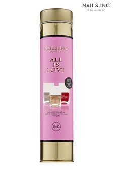 NAILS INC All Is Love Trio- (Worth £45)