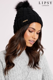 Lipsy Cable Knit Hat