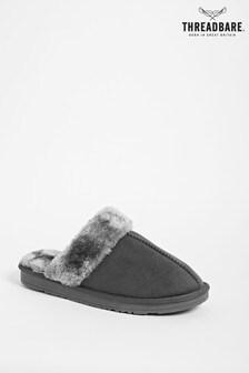 Threadbare Mule Slippers