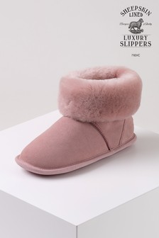Just Sheepskin Albery Boot Slippers