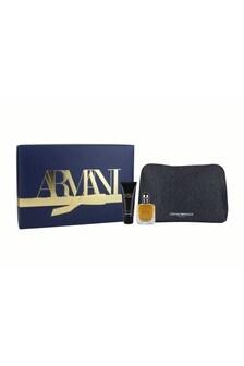 Armani Beauty Stronger with You Eau de Toilette Christmas Gift Set for Him