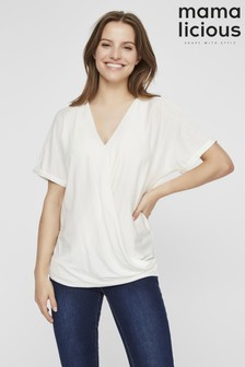 Mamalicious Maternity Nursing Wrap Top