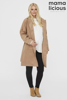 Mamalicious Drop Shoulder Coat