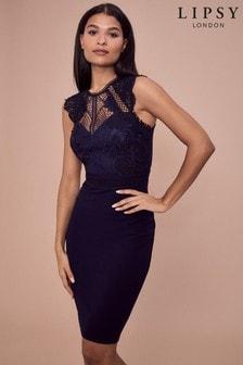 Lipsy Lace Bodycon Dress